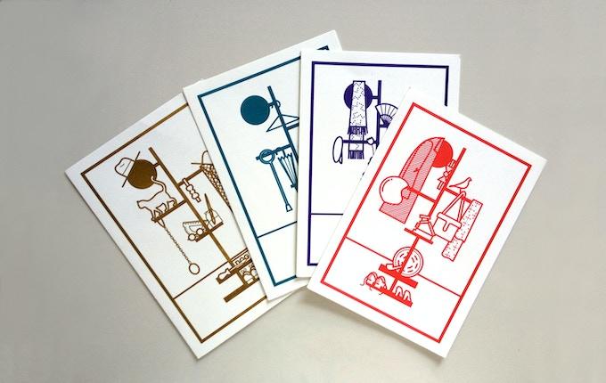 Camerino postcards by James Graham.