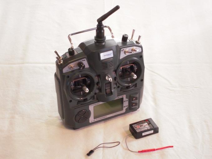 SwitchBlade-Pro  -  9 channel 2.4GHz radio & receiver