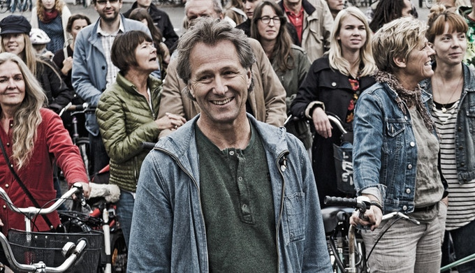 Director Fredrik Gertten and friends.  Photo: Michel Thomas