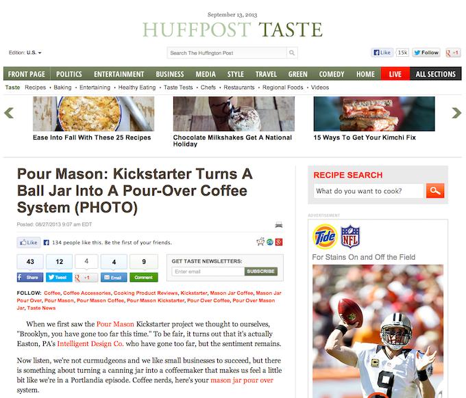 Huffington Post baby!!!!