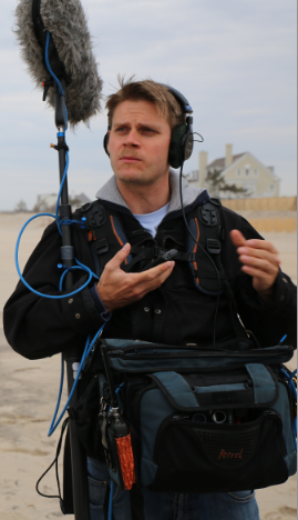 DAVID GROMAN - PRODUCTION SOUND RECORDIST/ BOOM OPERATOR