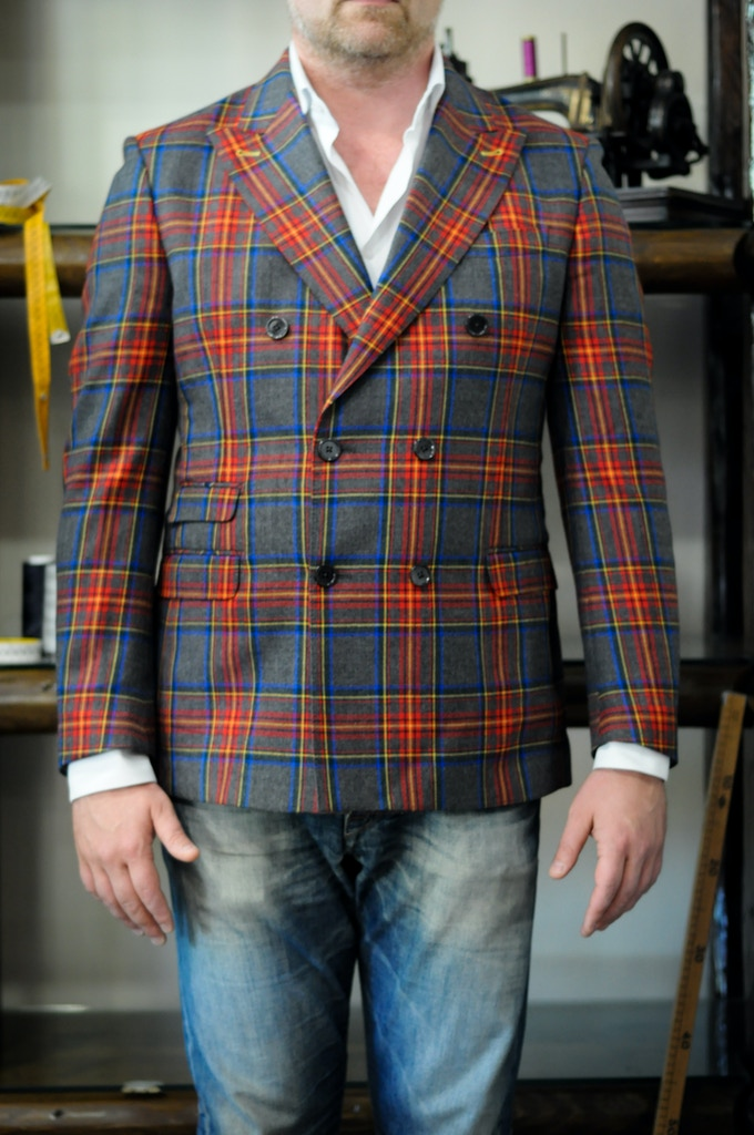 Distinctive Tartan Red