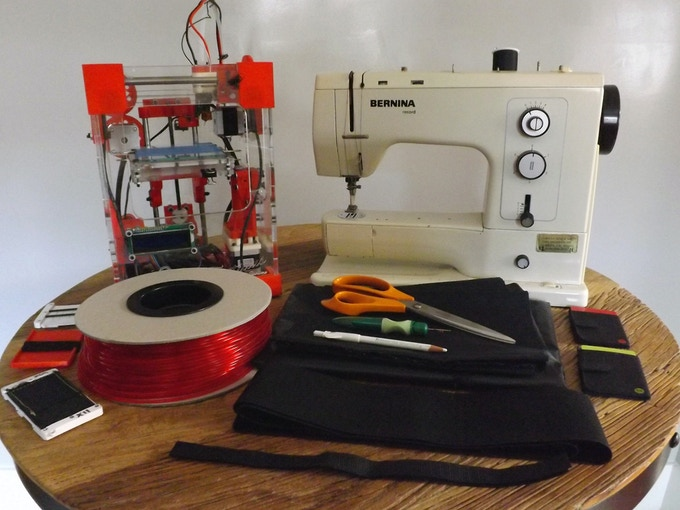 3D Printer + Sewing Machine = Ability to make almost any wallet!