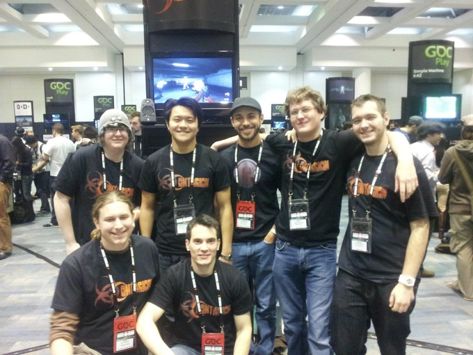 Some of the team at GDC 2012