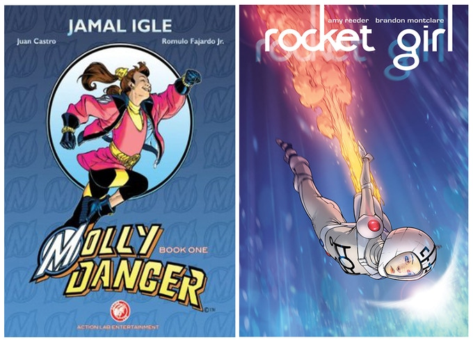 Choose a REWARD with comic created by past Dare2Draw mentor Jamal Igle or Amy Reeder and Brandon Montclare.