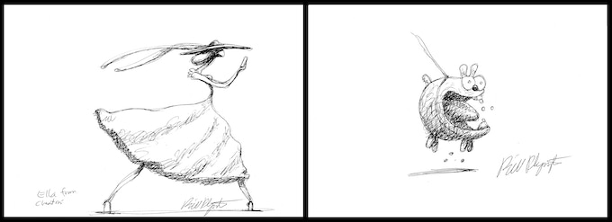 Bill Plympton: Dare2Draw Mentor at MoCCA Fest 2013!