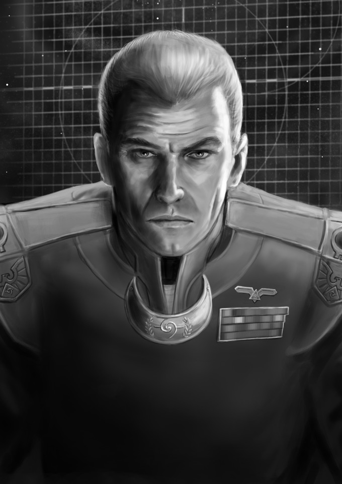 Commander Frye Charltos of the United Central Systems