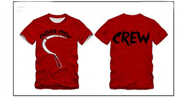 CARVER crew t-shirt...style may change
