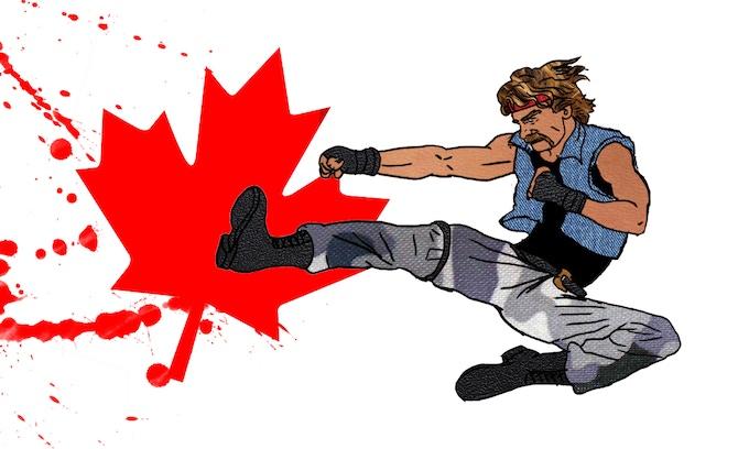 Buck North -- Canadian Ninja!