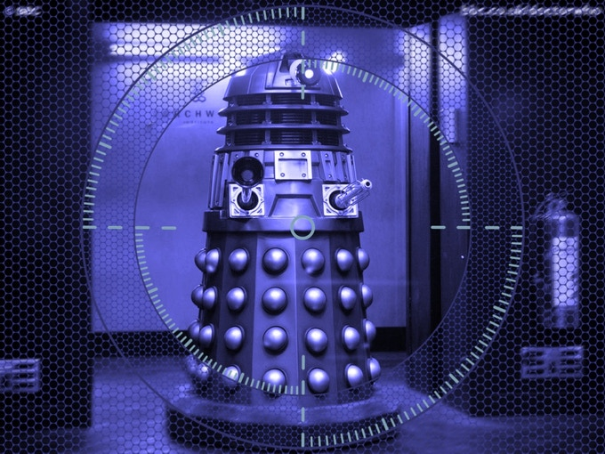 How our Dalek will see the world - Thank you very much http://www.eyestalk.co.uk!