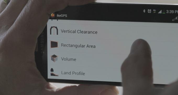 Spike app: measure select