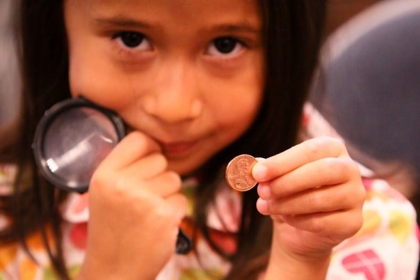 Barnes & Noble book event -Investigating the Penny!