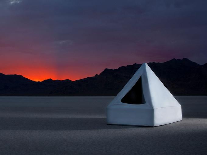 Float Tent working prototype