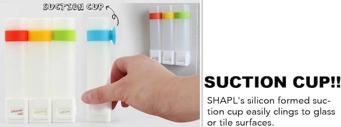 Shapl Smart Shower Container By Shapl Kickstarter