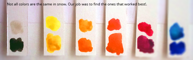 Not all colors are created equal!