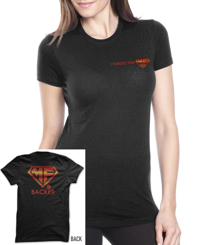 Female Backer T rewards- also just get the T alone