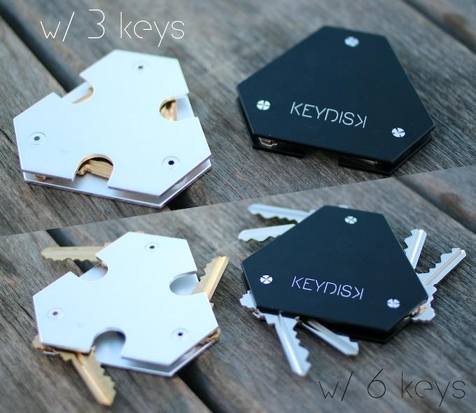 Keydisk The World S Thinnest Most Intelligent Key