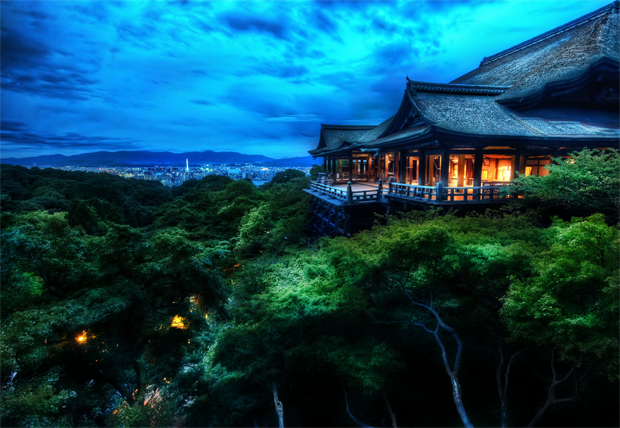 Kiyomizu Temple - Kyoto, Japan