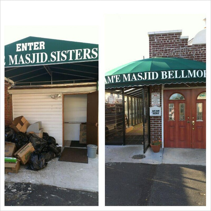 Does context matter? Maybe, but if you are a woman interested in learning about Islam and went to this mosque for the first time….