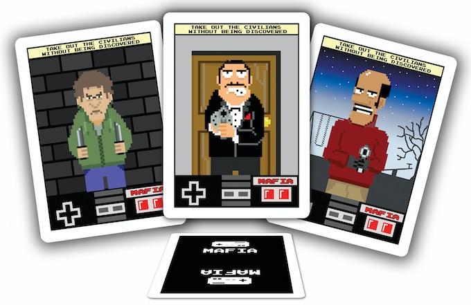 8-Bit Mafia & 8-Bit Werewolf by Michael Scott —Kickstarter