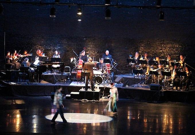 "Orbert Davis' CJP Ensemble performs ""Havana Blue"" with River North Dance Chicago, April 2013 at Auditorium Theatre"