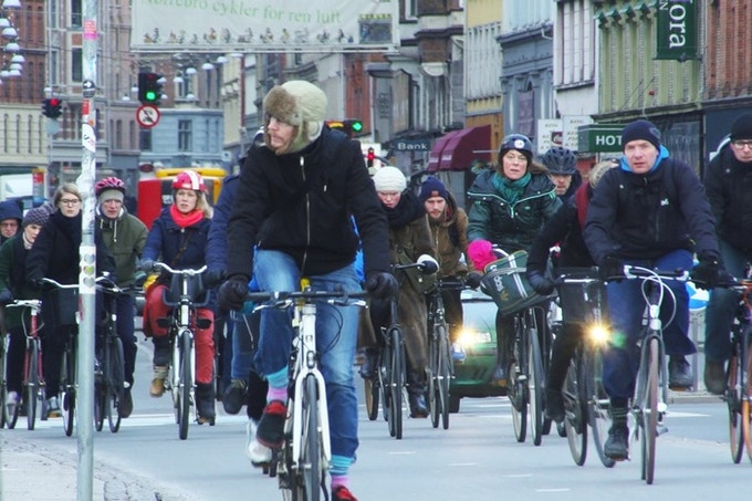 In Copenhagen, 40 percent commute on bike every day. Imagine the climate effect if other cities reached the same numbers.