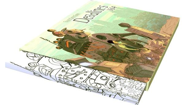 Deadlines VOL. 4: Slipcase Edition shown inside slipcase