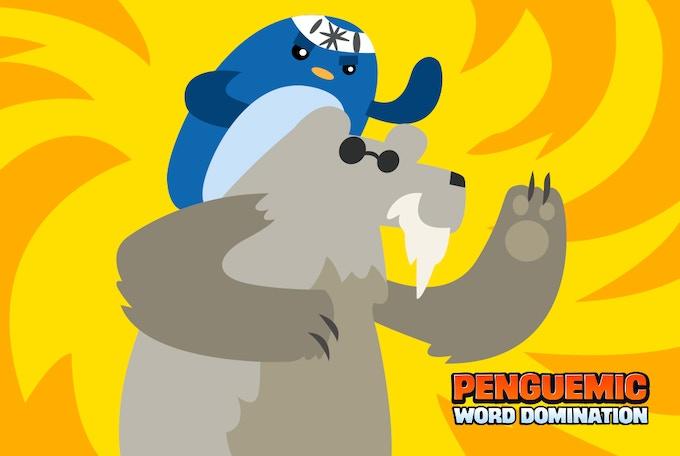 Sage Penguin with Polar Bear Ally in World 2!