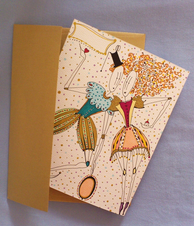 Personalized greeting card for any romantic occasion