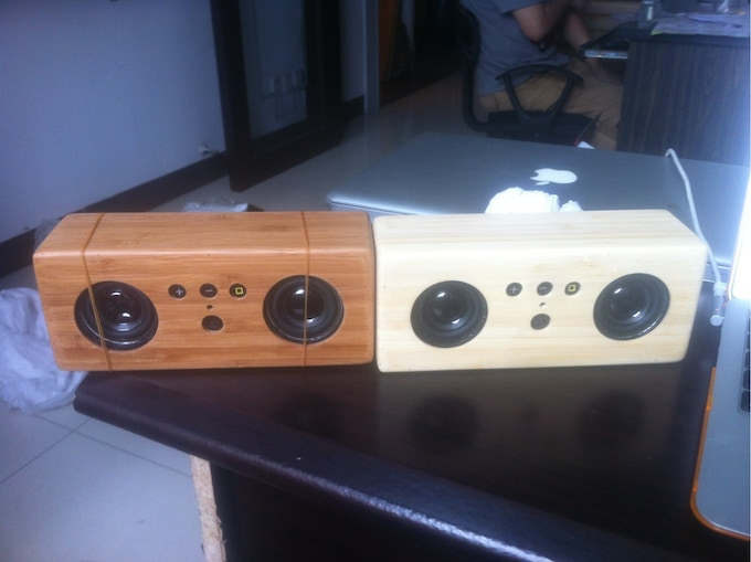 Our first prototypes!