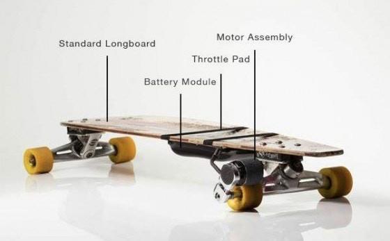 kickr electrify every longboard by kickr inc kickstarter. Black Bedroom Furniture Sets. Home Design Ideas