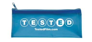 """Tested"" Pencil Case ($35, includes 2 pencils)"