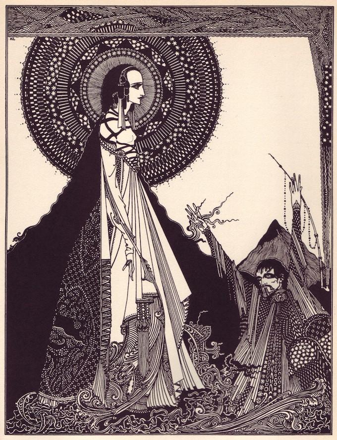 One of Harry Clarke's Poe Illustrations