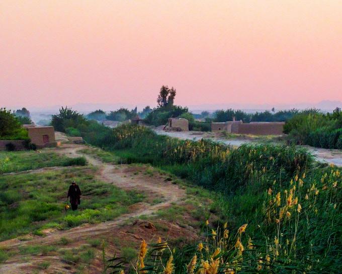 Sunset on Marjah