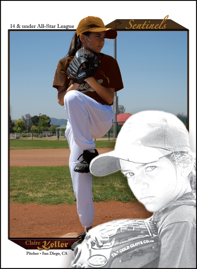 Promotional Sample of Baseball Card Reward