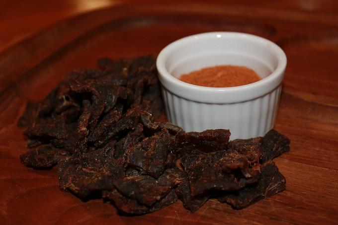 Mango Habanero Lawless Jerky.....Sweet + Heat + Meat!