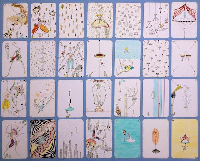 Deck of inspirational cards
