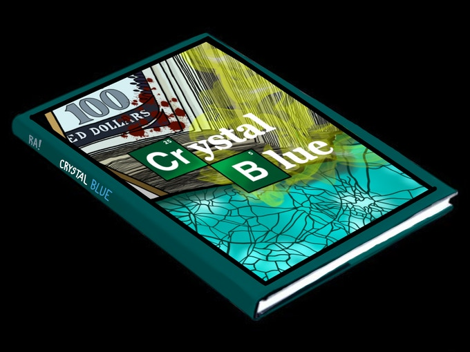 Get you own copy of Crystal Blue, which will look just like this mock up.