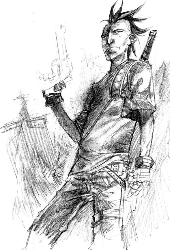 Ayden sketch card