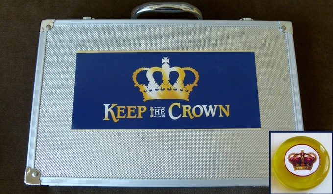 Royal Case (prototype) and premium Crown Marker