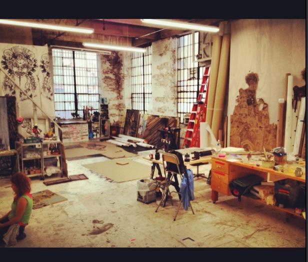 $750.00 Reward: A visit to Swoon's studio