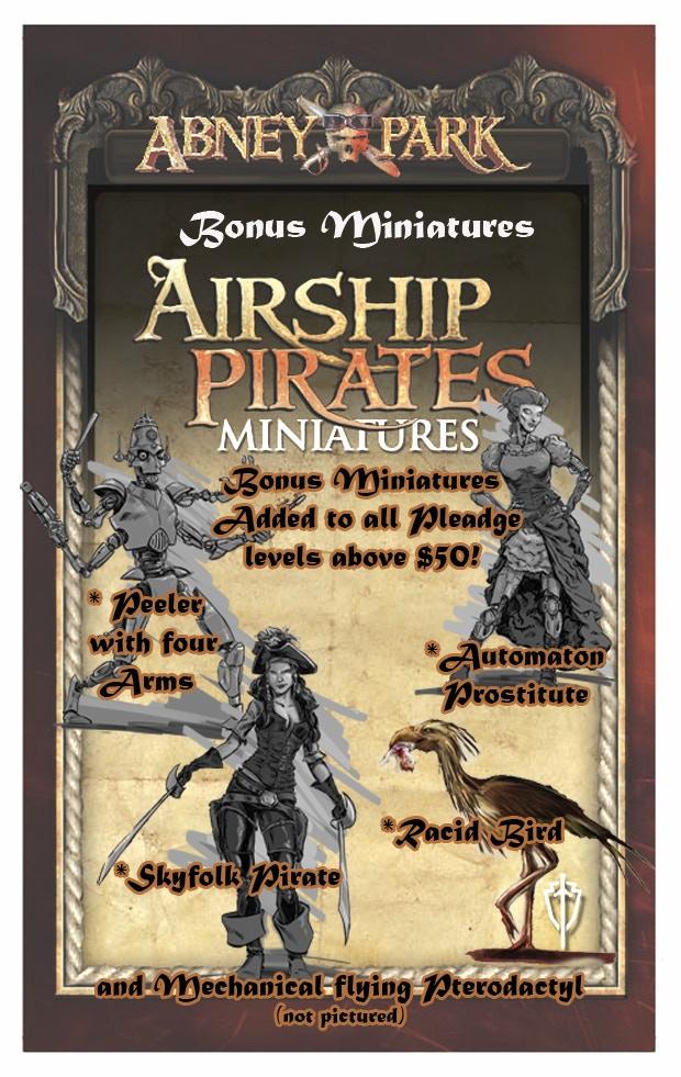 Bonus Miniatures added to all pledge levels over $50!