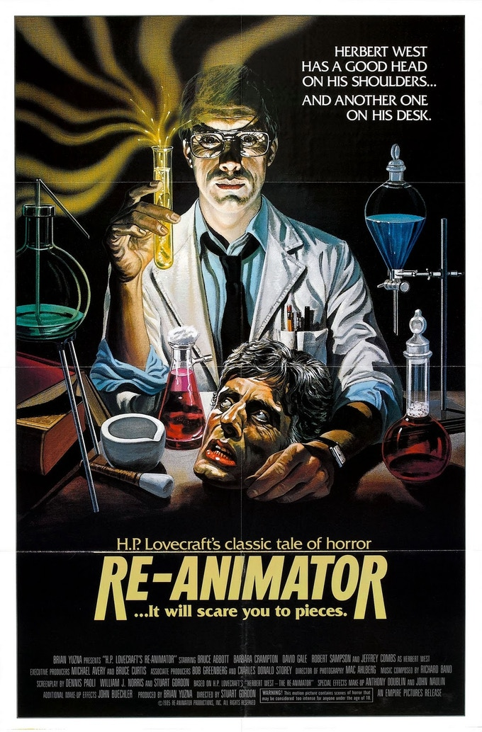 ..Or a signed Re-Animator poster