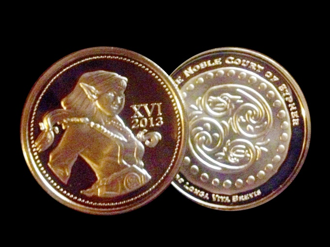 NEW REWARD Level Added: Labyrinth of Jareth Fantasy Ball Collectable Gold Coin