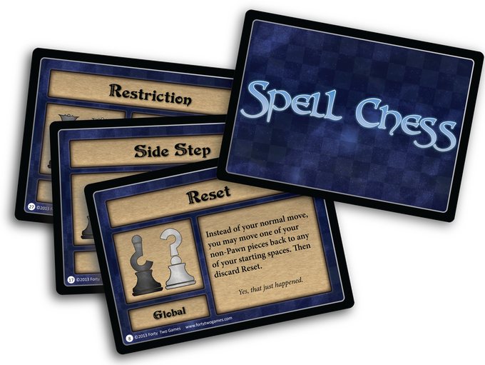 Newest Spell Chess Art