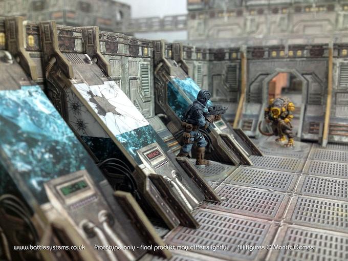 Battle Systems Sci Fi Modular Terrain By Battle Systems