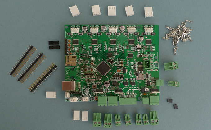 Smoothieboard 5xC with pre-soldered premium connectors