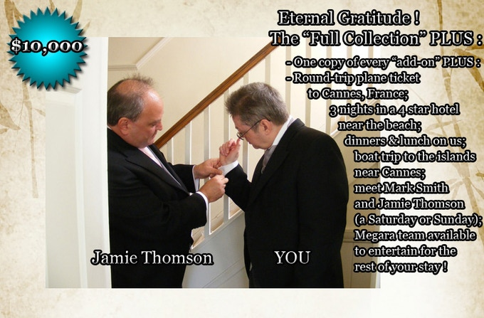 ETERNAL GRATITUDE: $10,000. The usual. Just read the image for yourself.