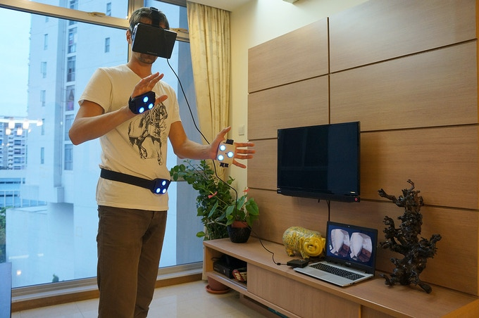 iMotion - your whole body in the virtual world