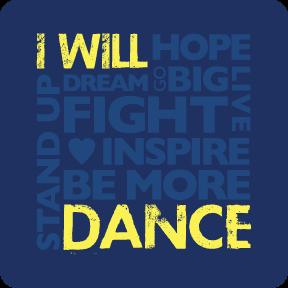 I Will Dance Sticker